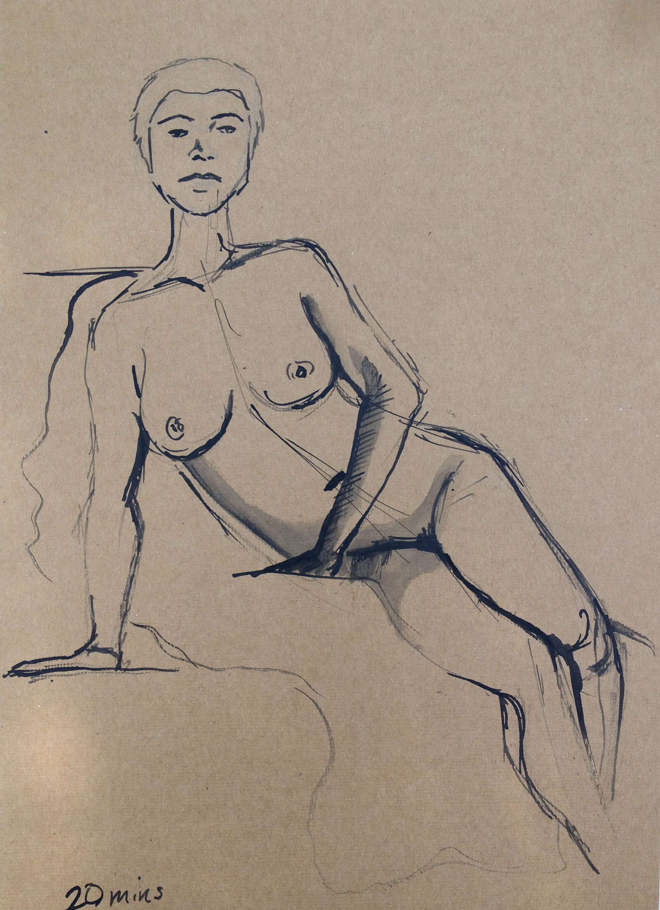 Semi reclining_Ink 20mins