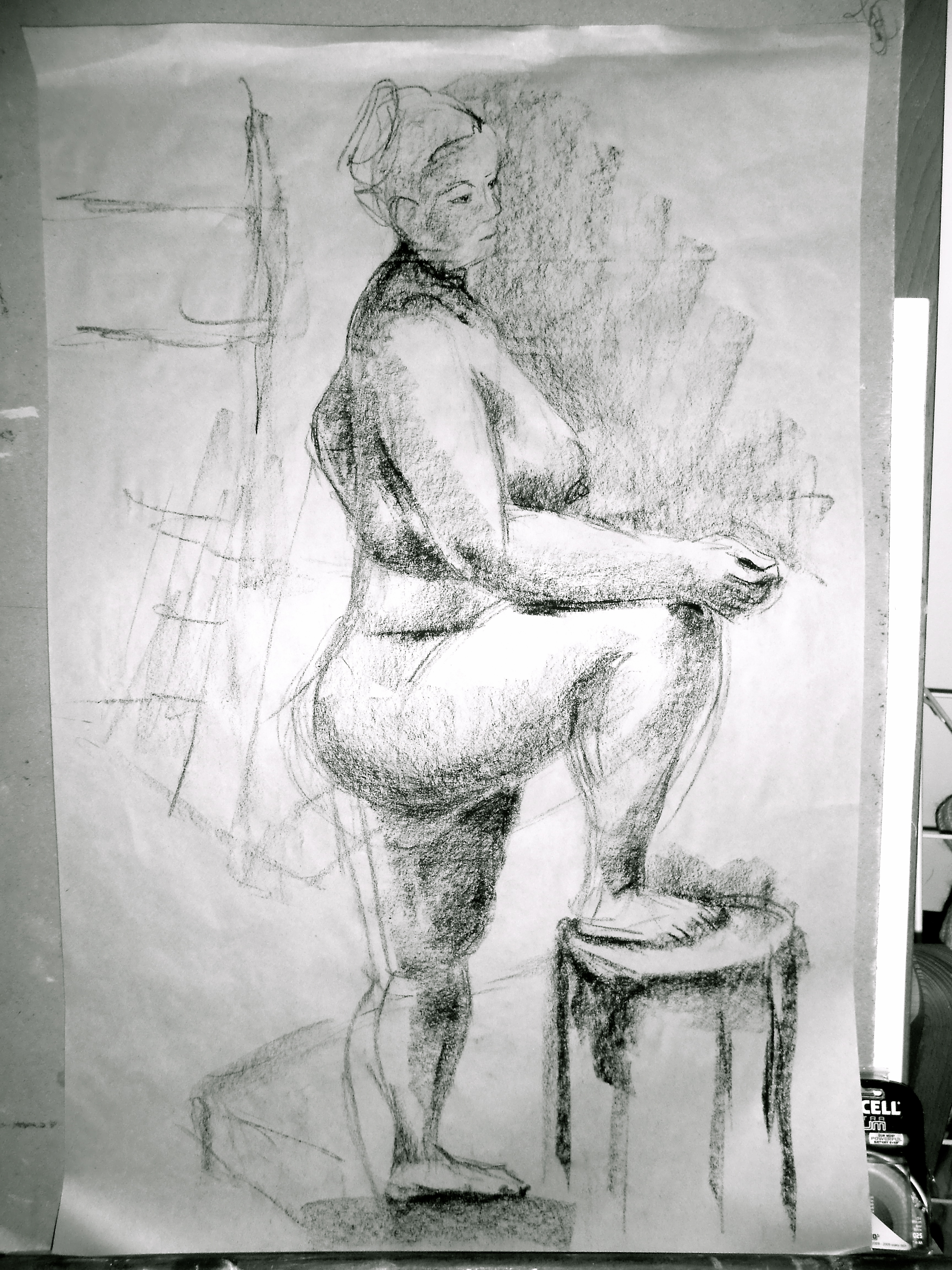 Standing_Charcoal 10mins