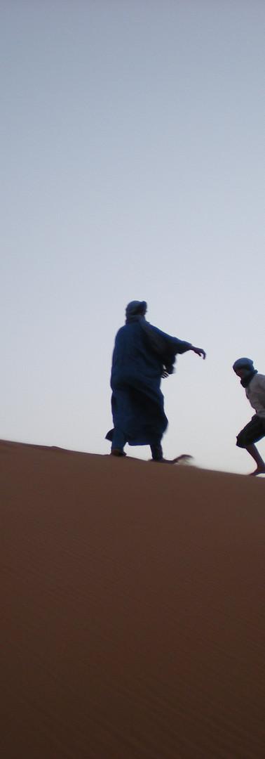 Activities on the dunes