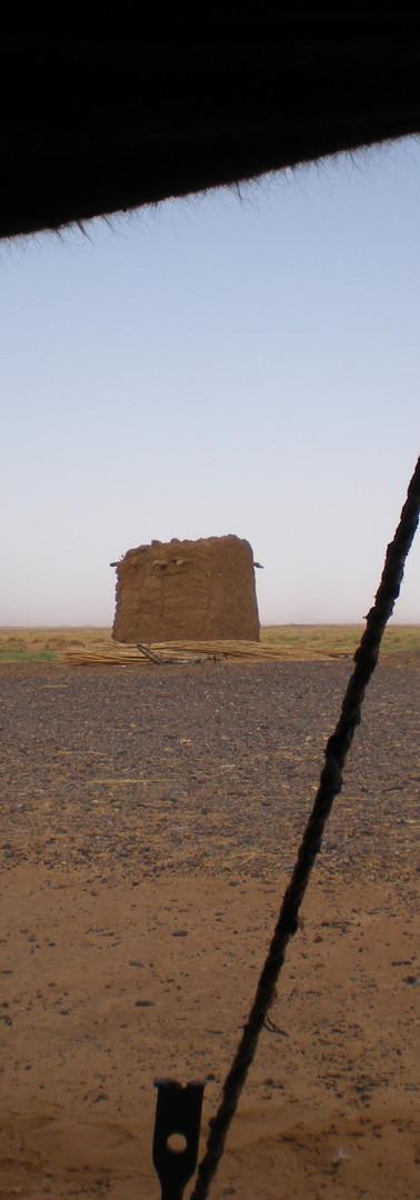 Picnic in the berber tent