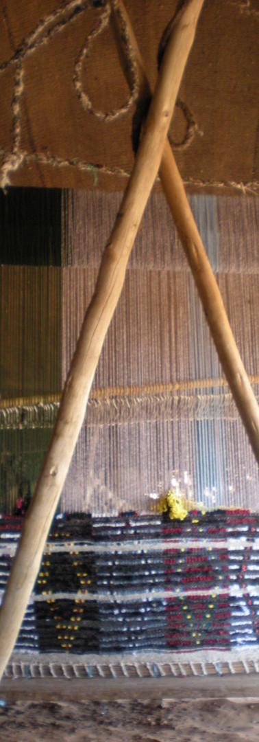 Hand made berber carpets