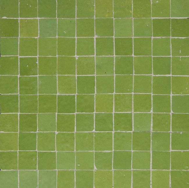 lime green 3x3cm