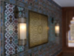 Moroccan tiles project London