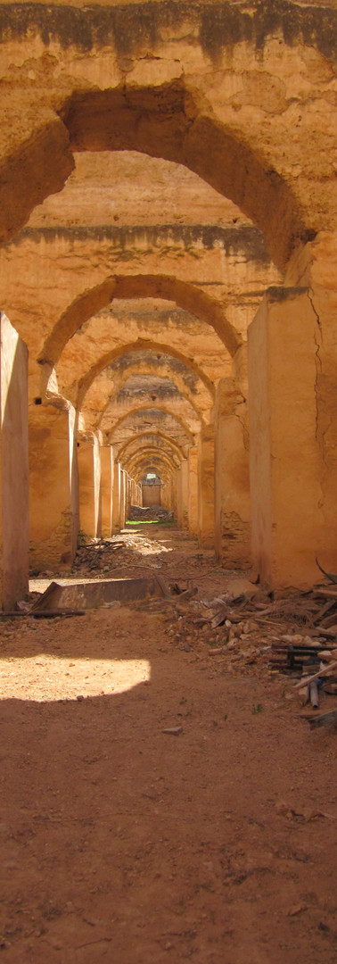 Stables ruins of moulay ismai