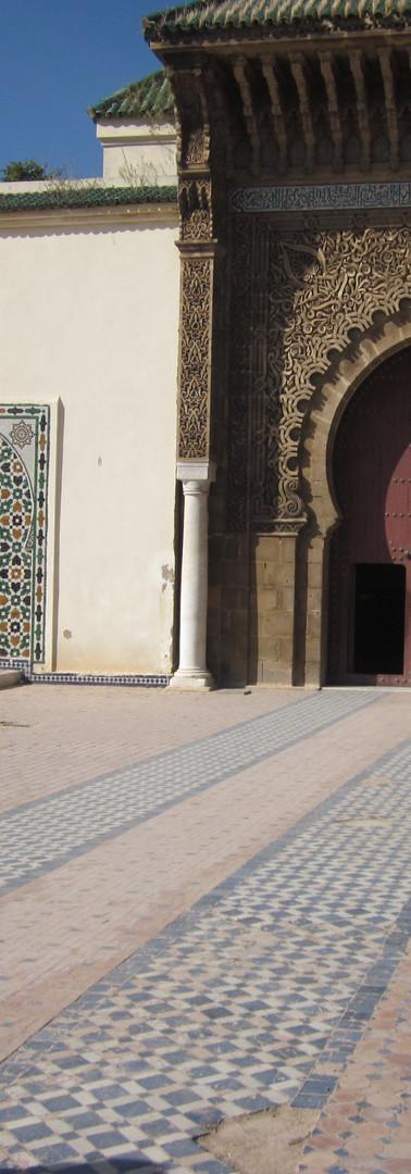 Royal palace of Meknes