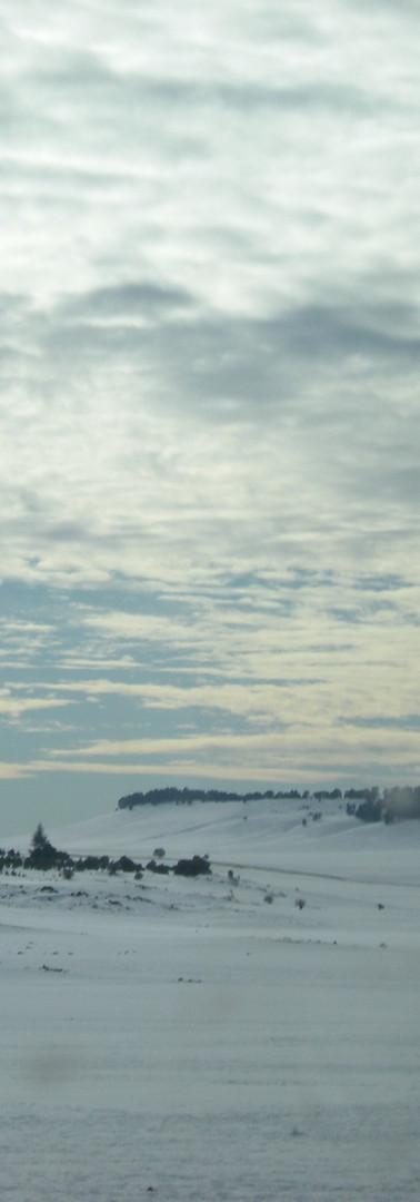 Views of snow at the Atlas