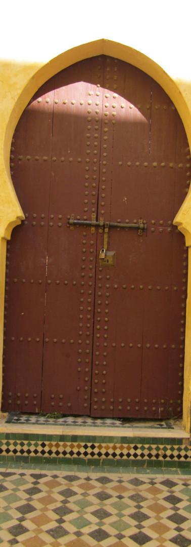 Moroccan ancient door