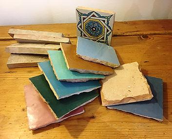 Moroccan loose tiles