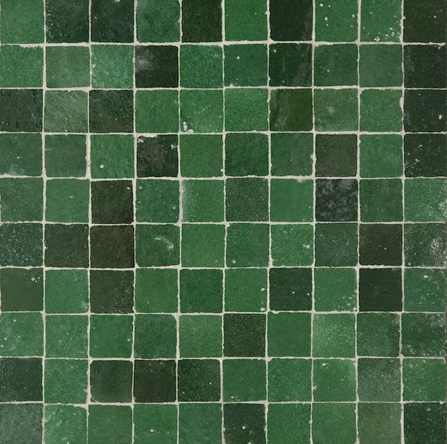 green 3x3cm
