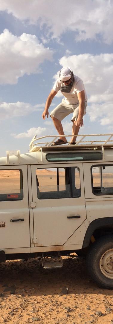 Planning the sahara trip