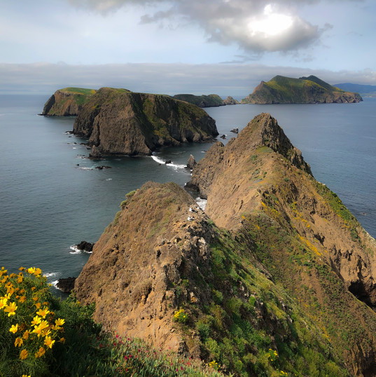Inspiration Point, Anacapa Island, California, USA.