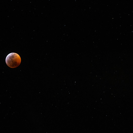 Lunar eclipse, 2019.