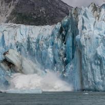 Dawes Glacier, Alaska.
