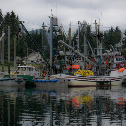 Petersburg, Southeast Alaska, USA.