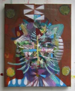 Untitled (Jaguar bust)