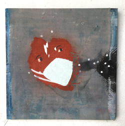 Untitled (Solo) 2020_ Acrylic_and fabric