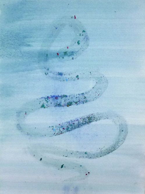 Water snake, 2013 *SOLD*
