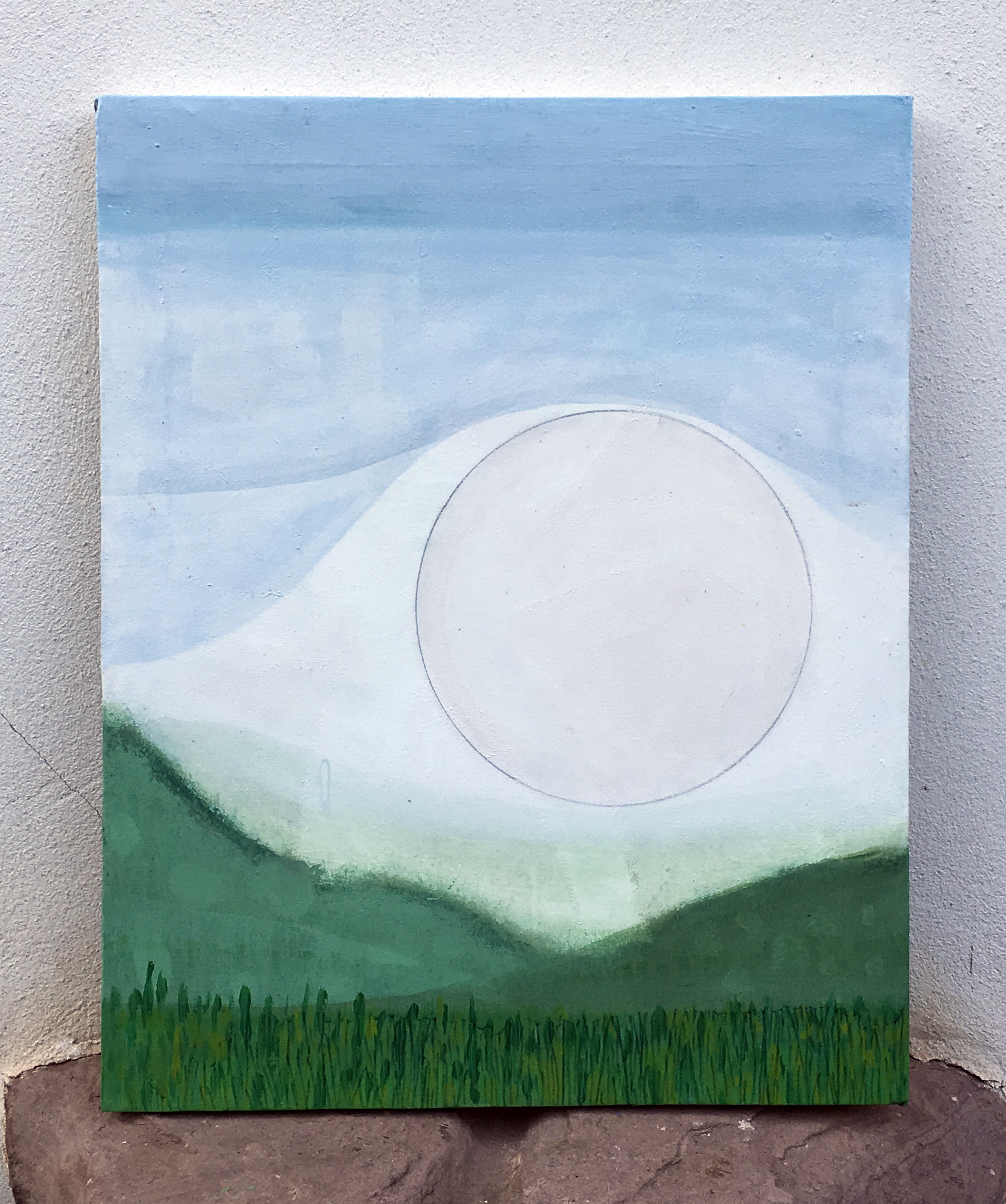 Full Moon 61x49cm