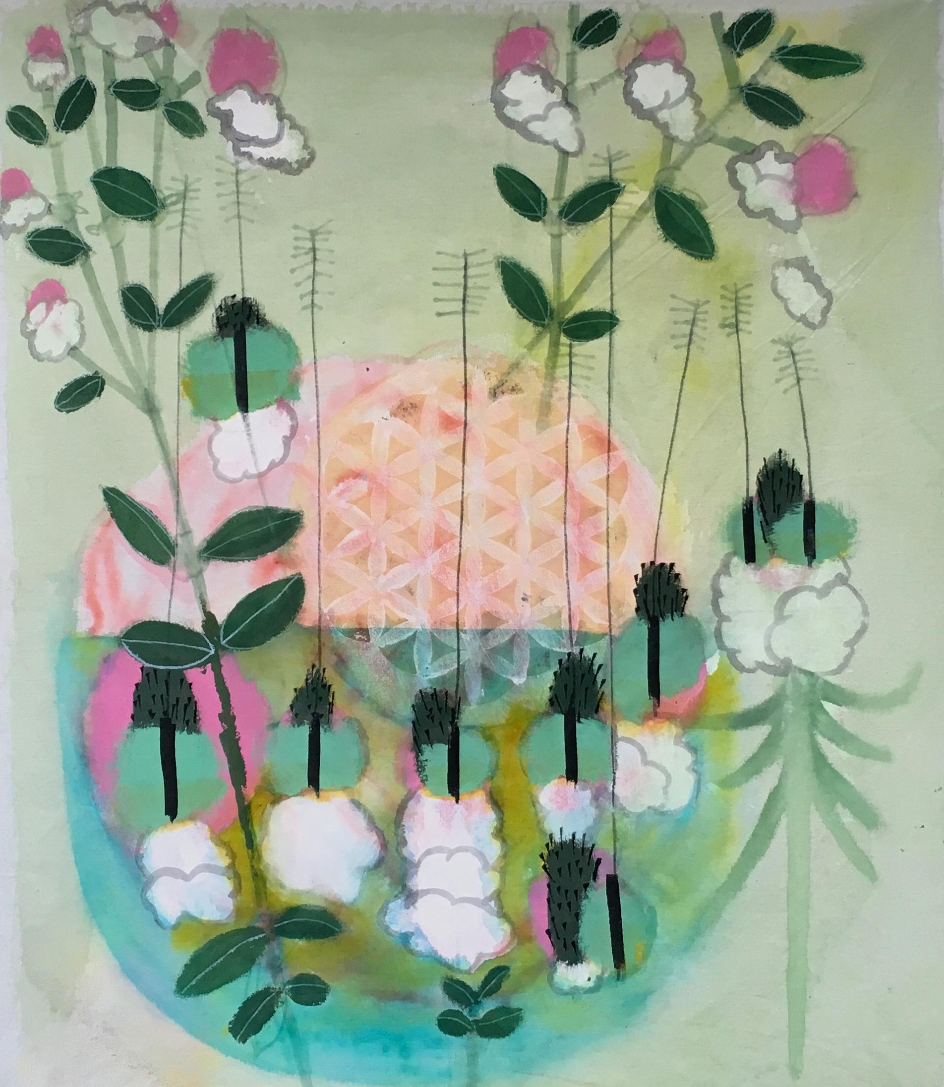 Floweroflife 69x57cm