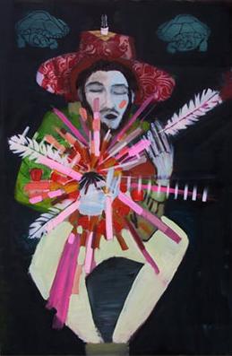 Self portrait (musician)