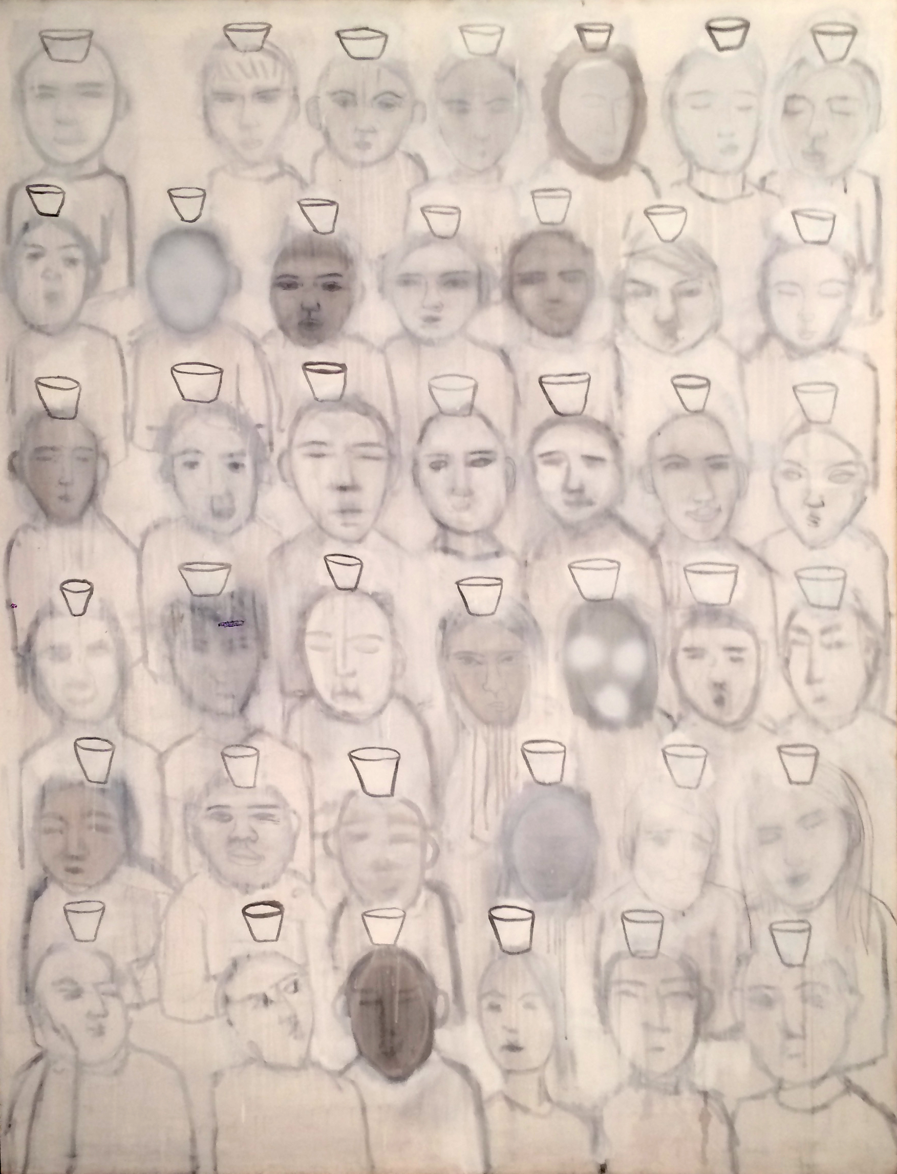 students one, 2010 56x72in