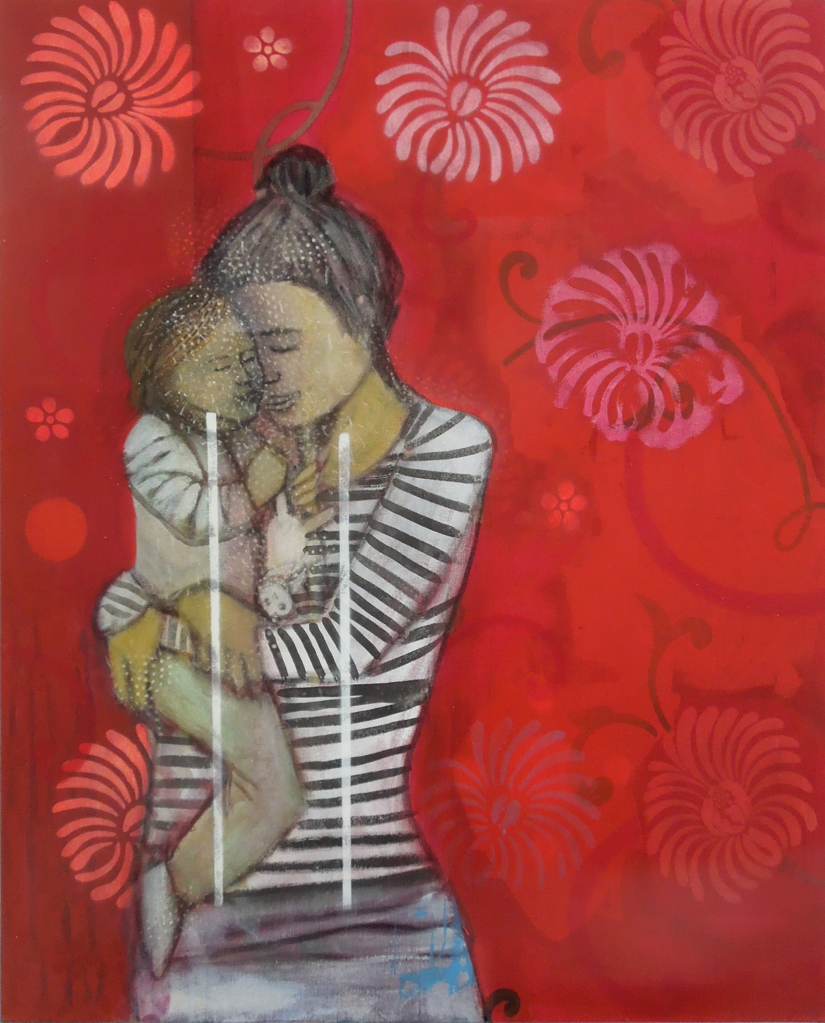 Mother and child (100x81cm)