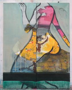 untitled(seamaiden)75x59cm