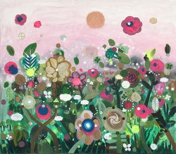 Untitled (Big pink) 2021 146x140cm