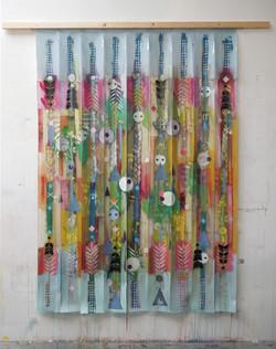 Rain curtains (plasticstrips)165x238cm
