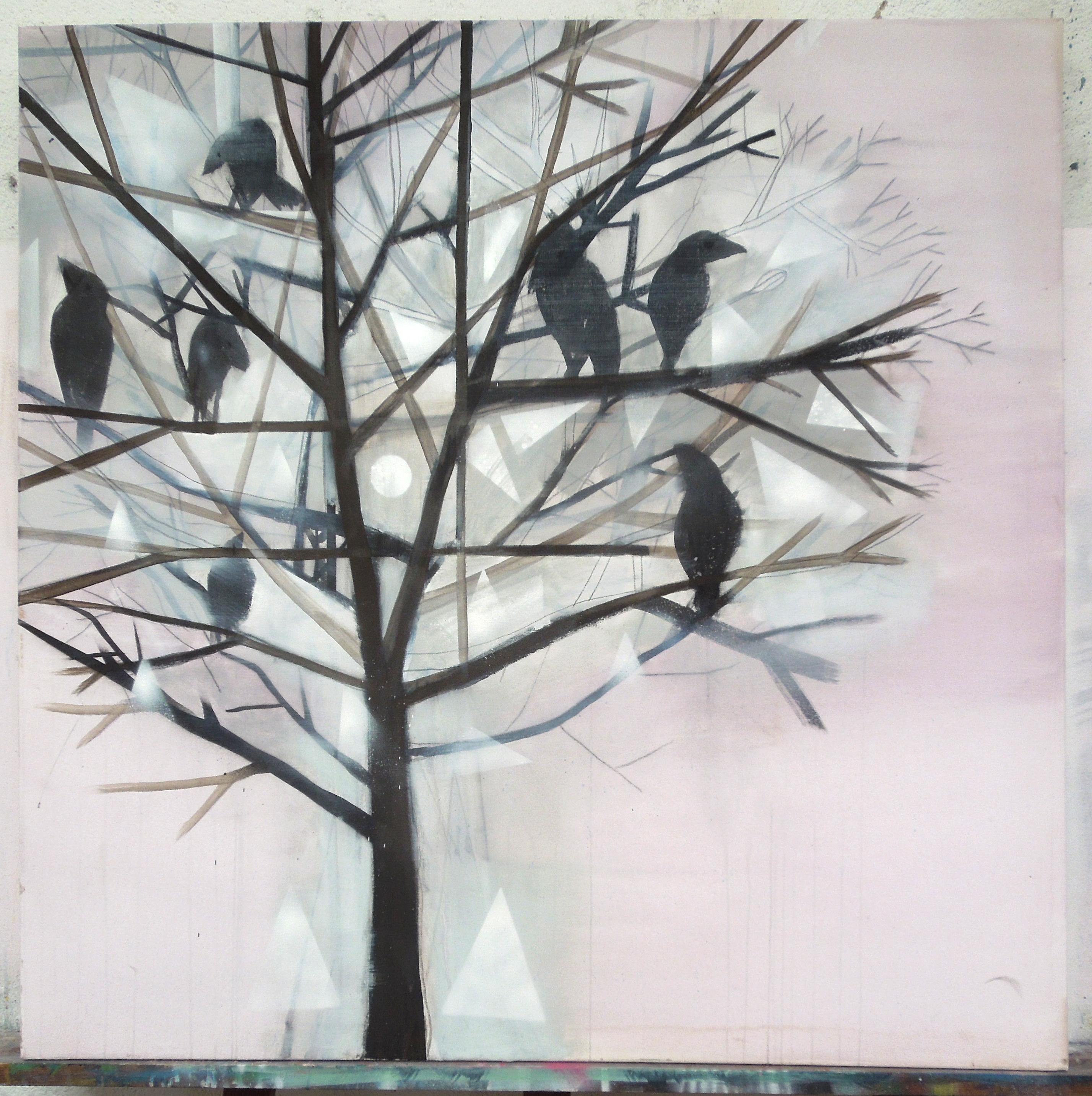crows1_100x100cm
