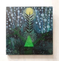 Green triangle (60x60cm)