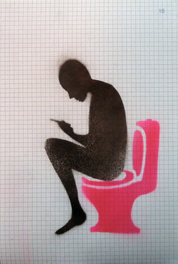 pink-crapper-print ,2016