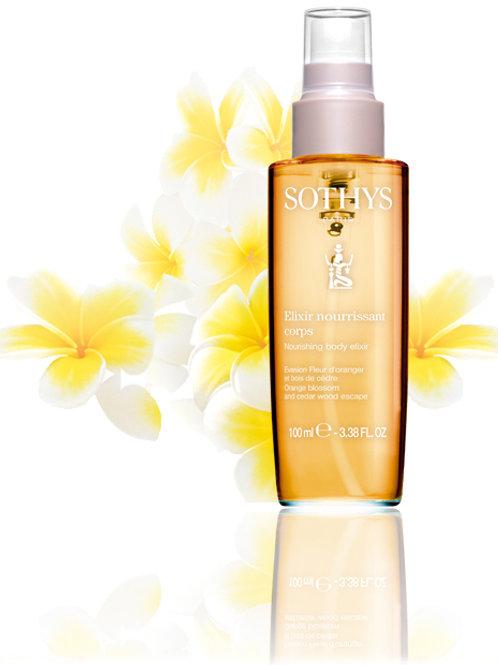 Elixir nourrissant fleurs d' oranger bois de cèdre