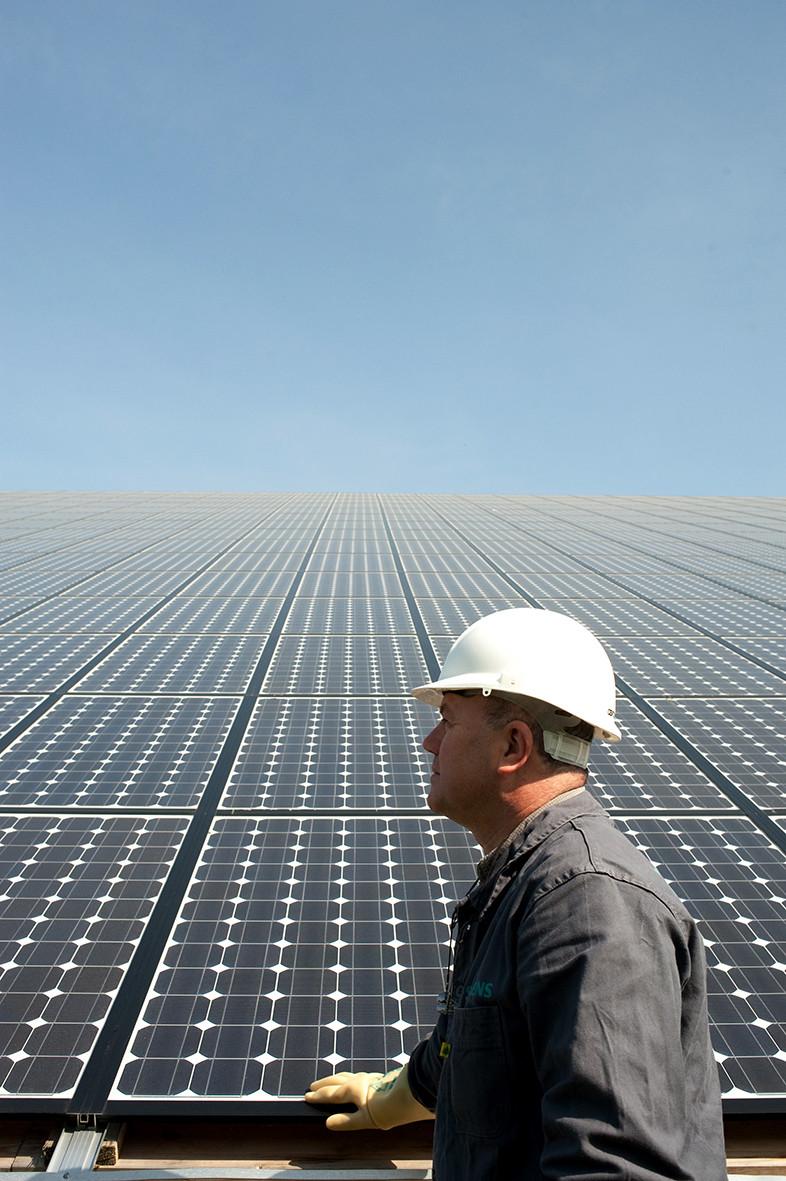 Ferme photovoltaïque pour l'Apave.