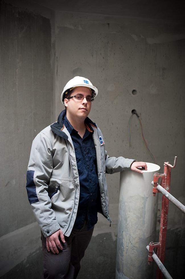 Nicolas Martins pour Vinci construction.
