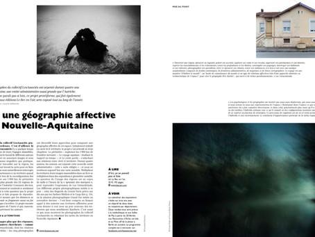 D'ici, ça ne parait pas si loin, publication Fisheye Magazine, janvier-fevrier 2020.