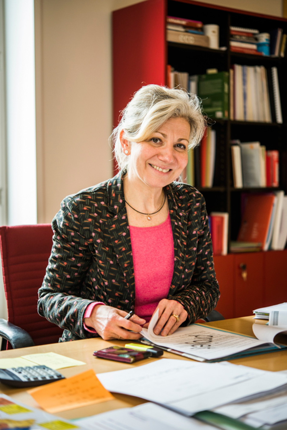 Valérie Mancret-Taylor, directrice générale, pour l'Anah.