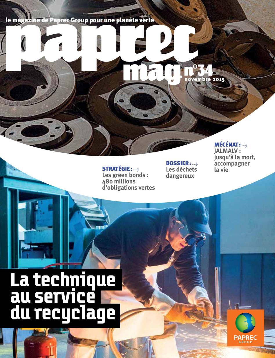 Reportages pour Paprec Magazine