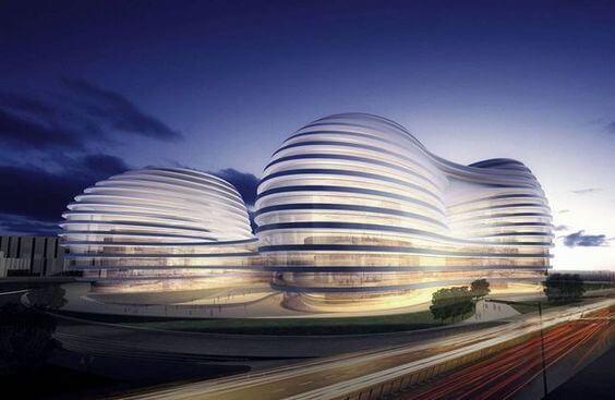 曲線/弧型 建築設計