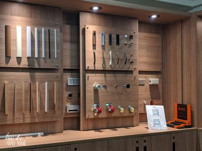 五金展示區 客製化系統櫃
