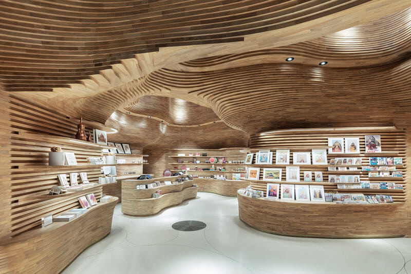 曲線/弧型天花 裝潢設計 室內設計