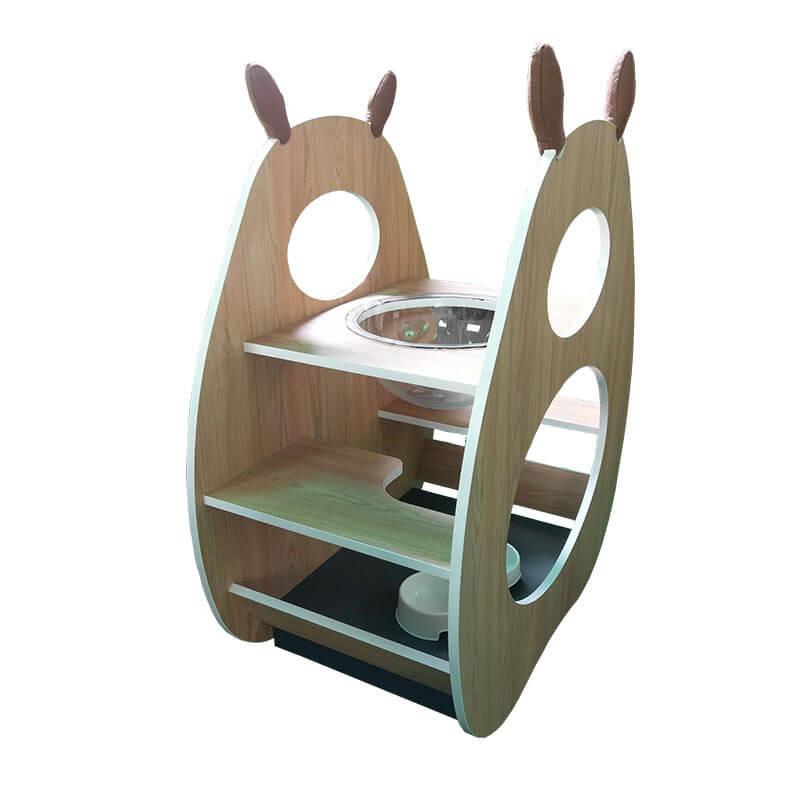 弧形/曲線 系統家具 貓屋