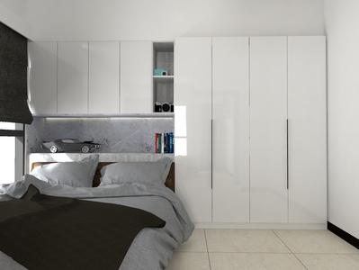 室內空間設計微裝潢|客製化系統櫃