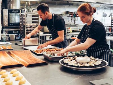 商業空間更適合廚藝烘焙桌