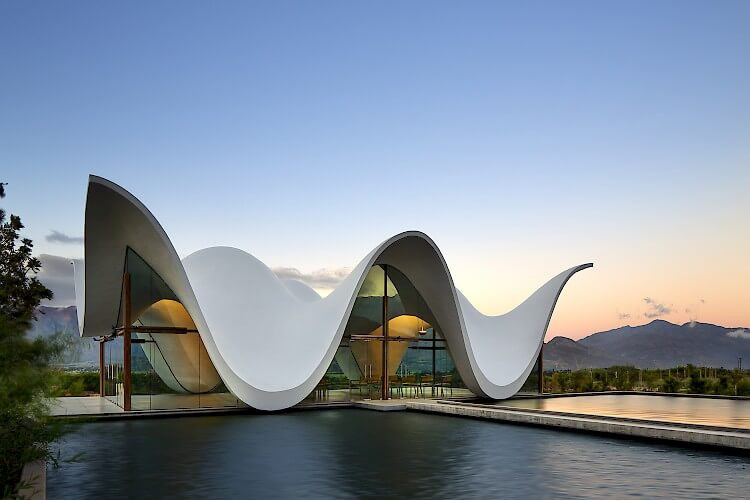 曲線/弧型建築設計