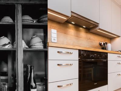 從阿嬤櫥櫃到現代系統家具 / 台灣,用手作木工結合系統家具