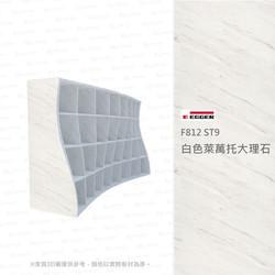 F812 ST9 白色萊萬大理石