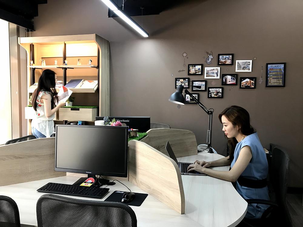 辦公設計系統櫃