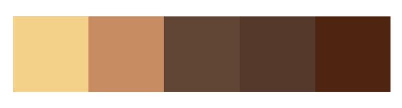 系統家具配色