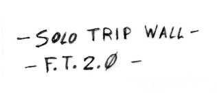 """Parete Nascosta: restyling di """"Solo trip Wall"""""""